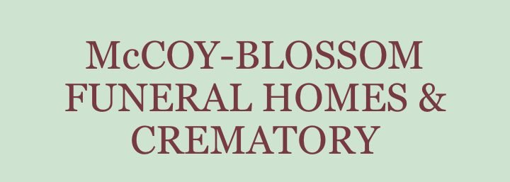 McCoy-Blossom Funeral Homes & Crematory