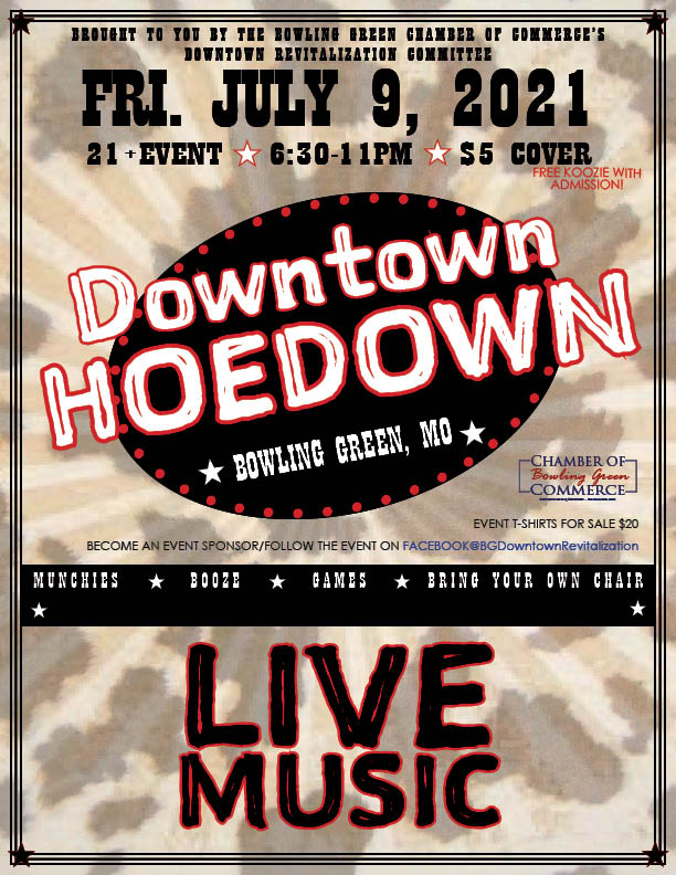 2nd Annual Downtown Hoedown Scheduled