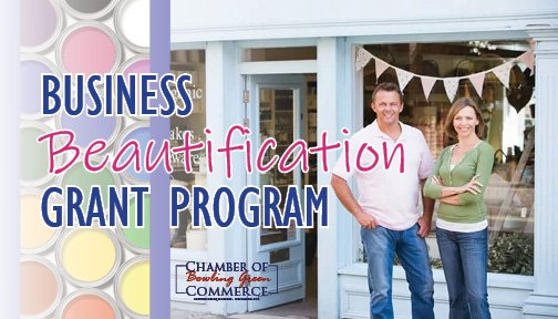 Now Accepting Applications for the 2022 Business Beutification Grant!